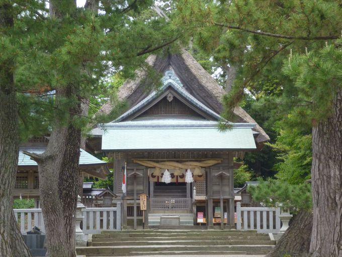 映画「渾身KON−SHIN」の舞台にもなった水若酢神社(国指定重要文化財)