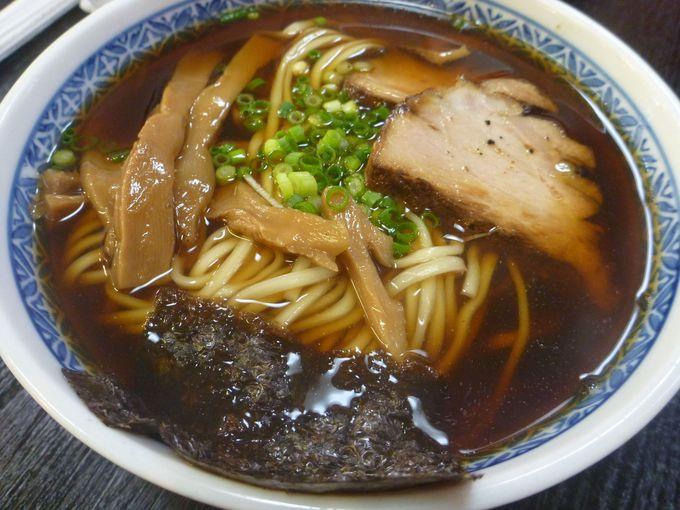 志太系ラーメン「藤枝朝ラーメン(温)」を食べてみよう
