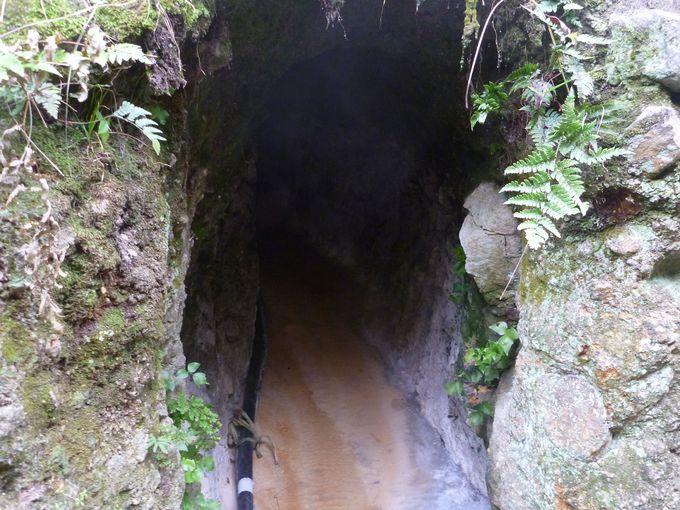 いよいよ日本屈指の洞窟風呂へ