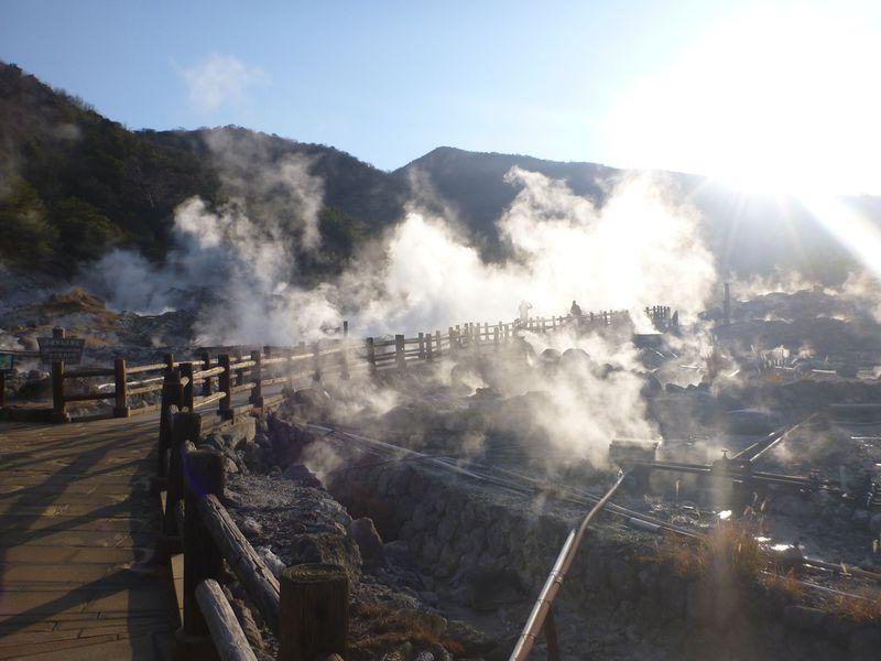 日本最古の国立公園雲仙で地獄めぐり!地球の息吹を感じよう!!