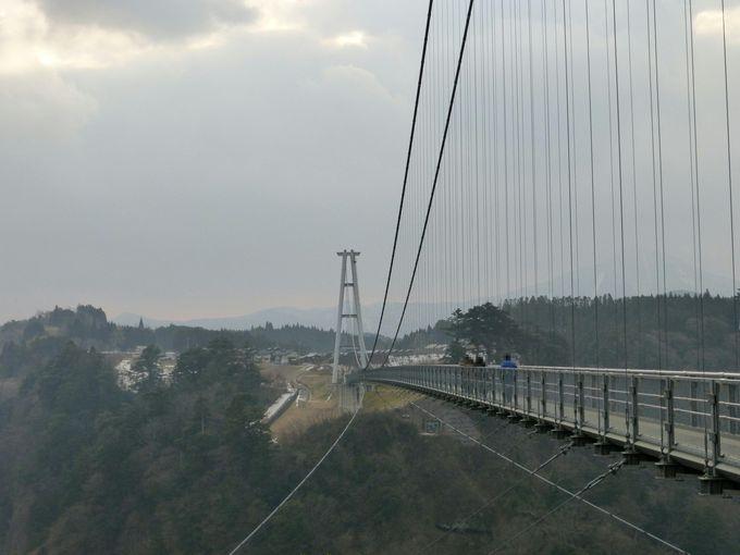 "日本一の「九重""夢""大吊橋」♪"