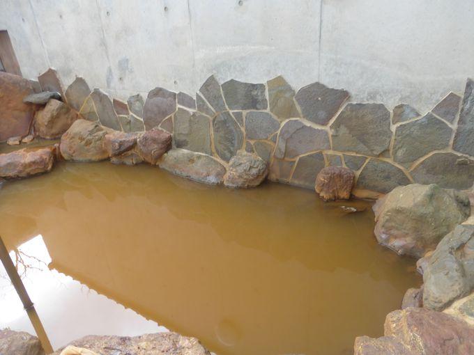 長良川温泉ならでは!茶褐色の濁り湯に浸かろう