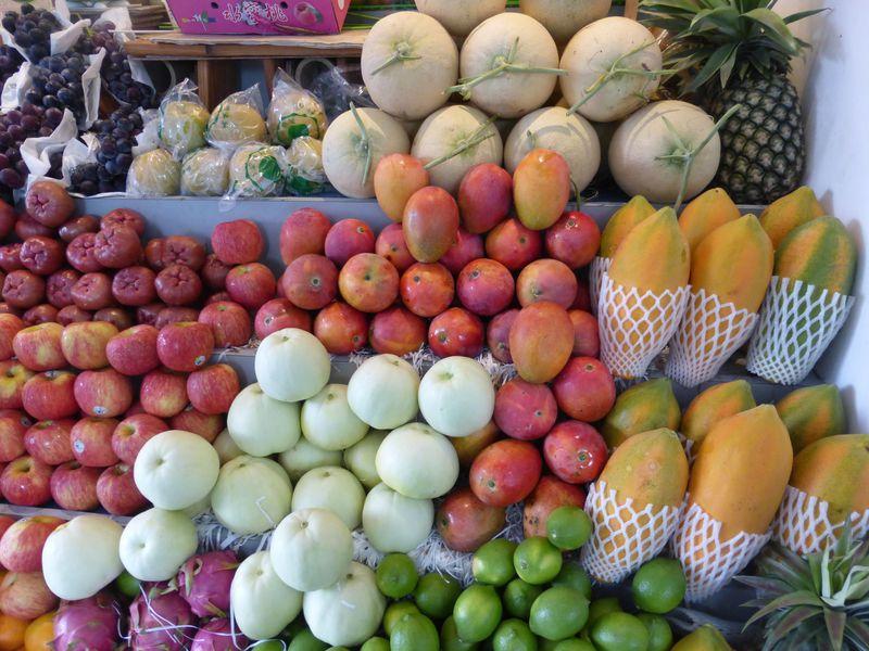 台南の果物専門店で食べる本場のフルーツデザートは絶品!!