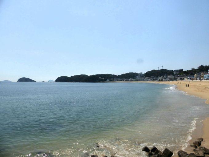 篠島でのオススメその1は「海」