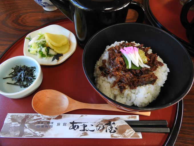郷土料理の進化系お茶漬け「勝ち山ぼっかけ」