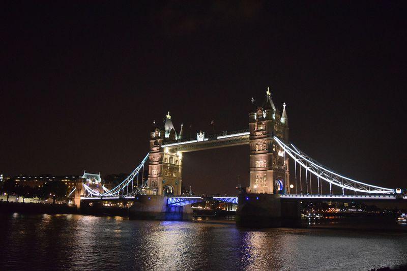 夜こそ見るべし!テムズ川沿いのロンドン観光名所5選