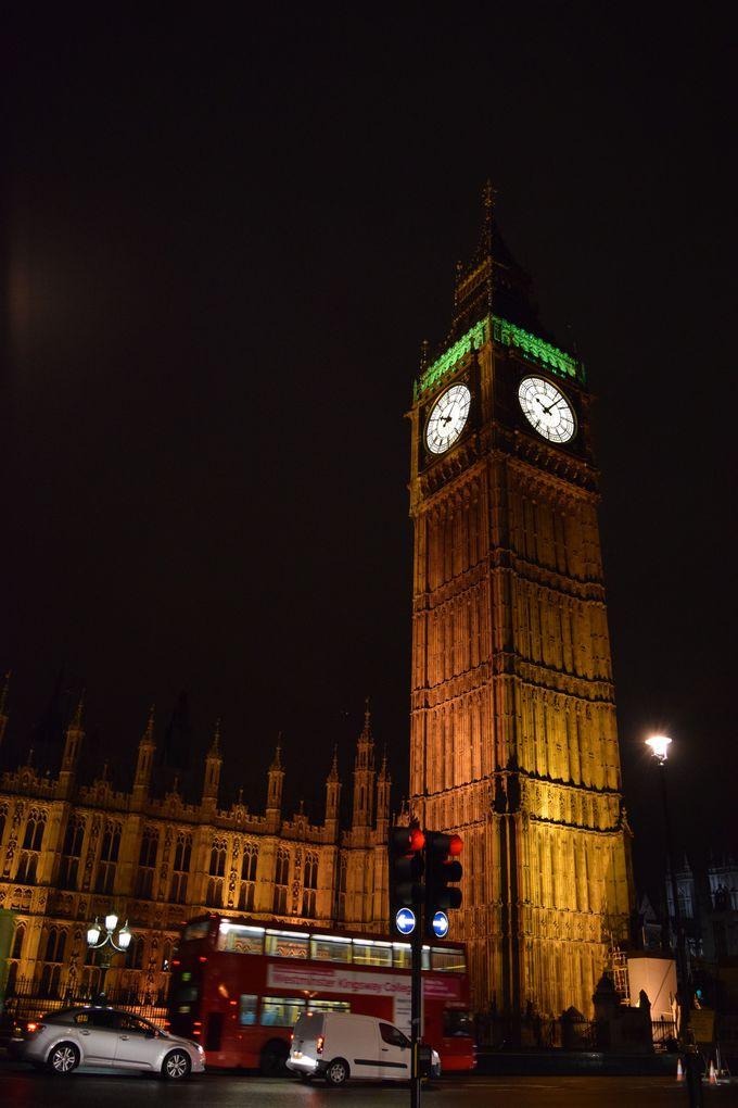 ロンドンと言えば!素晴らしいネオ・ゴシック建築のビッグベン