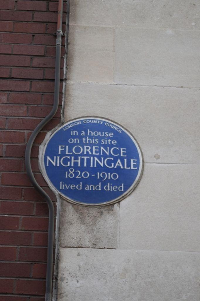 ロンドン屈指の高級エリアにあるナイチンゲールの家