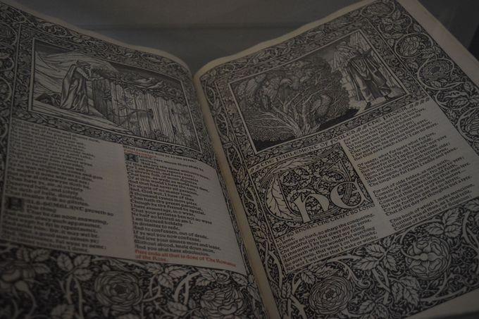 モリスが作った「本」の芸術