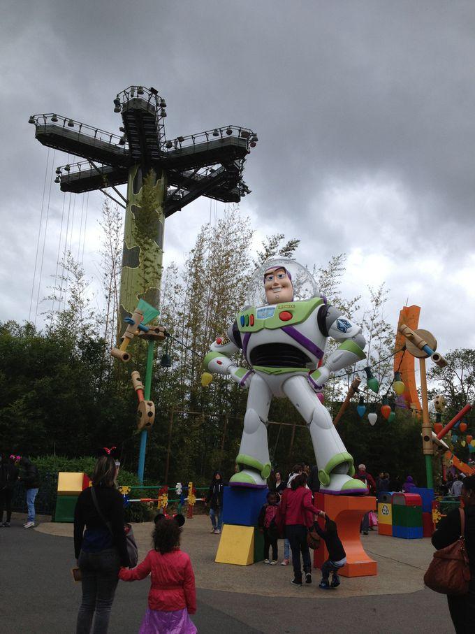 東京ディズニーランドにはない「トイ・ストーリー」の世界へようこそ!