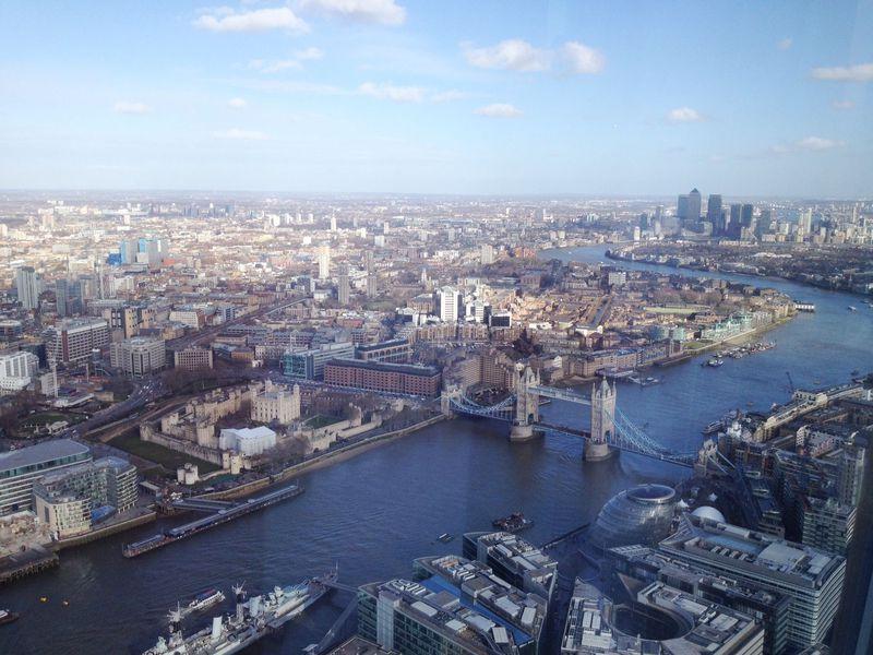 話題のあの場所も!絶景が楽しめるロンドン展望スポット3選