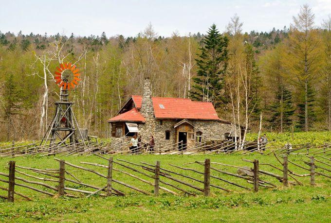 「北の国から」ロケ地 石の家