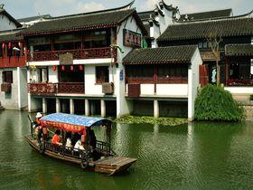 上海から1番近い水郷古鎮!古き良き中国を感じる「七宝」を歩く!