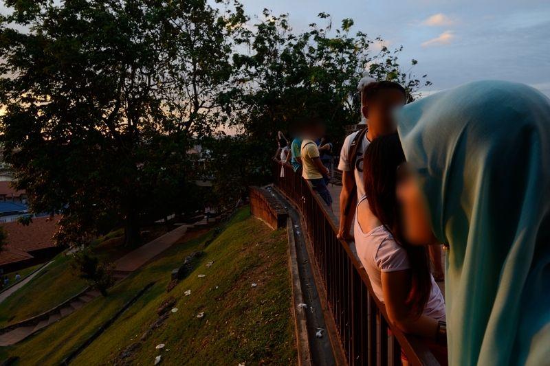 マラッカの一番美しい時を待つ人たち