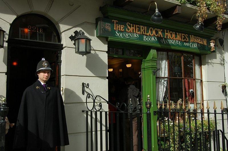 ホームズとワトソンが下宿していた「221B番地」