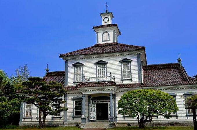 『コクリコ坂から』−旧西田川郡役所・港の見える丘公園