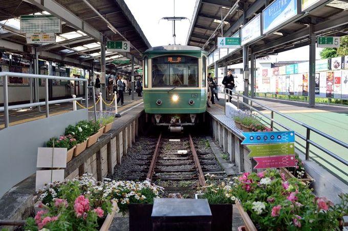 「鎌倉文学館バラまつり」へは、江ノ電でアクセス!