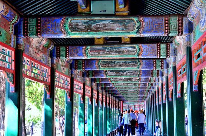 乾隆帝の散歩道、長廊