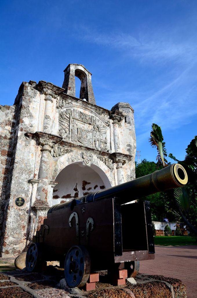 ポルトガル軍の作った大砲