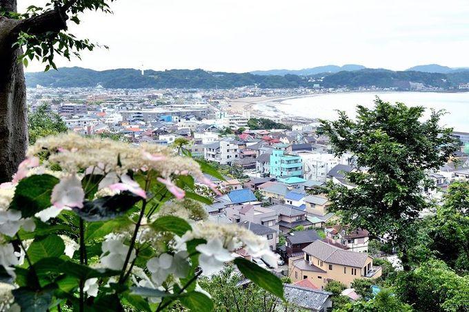 鎌倉の街と湘南の海