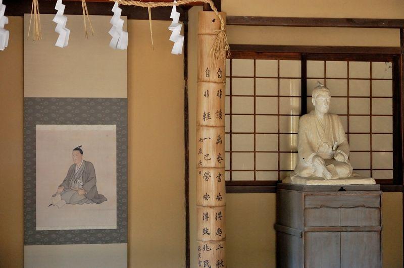 松陰先生の肖像画