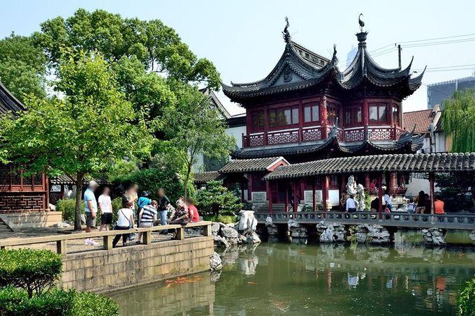 伝統的中国を感じる名園