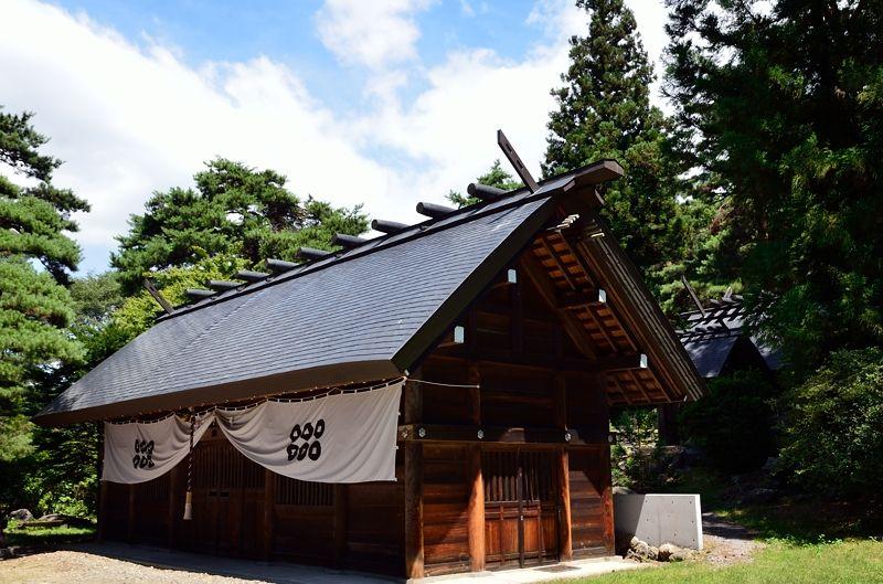 上田城以前の住居「真田氏館跡」