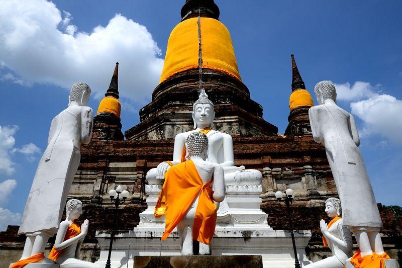 世界遺産アユタヤのおすすめ遺跡5選!タイ史上最大の王朝はバンコクにほど近い必見観光名所!