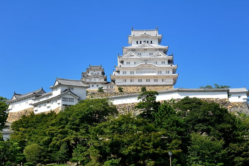 兵庫県で唯一の世界文化遺産!美しい白亜の「姫路城」