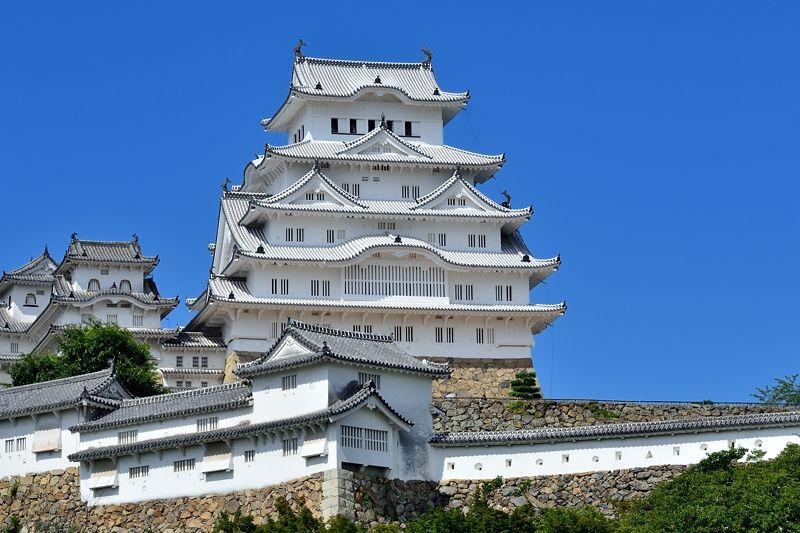 姫路といえばなんといっても世界文化遺産、国宝「姫路城」