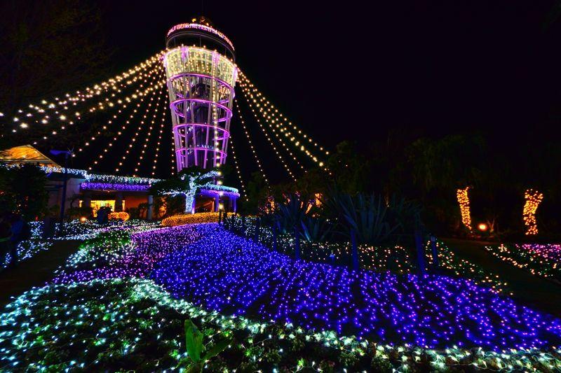 江ノ島のシンボル「シーキャンドル」もライトアップ!
