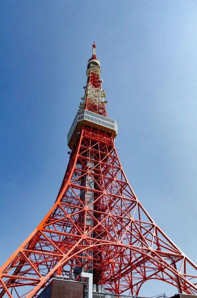 日本のシンボル「東京タワー」