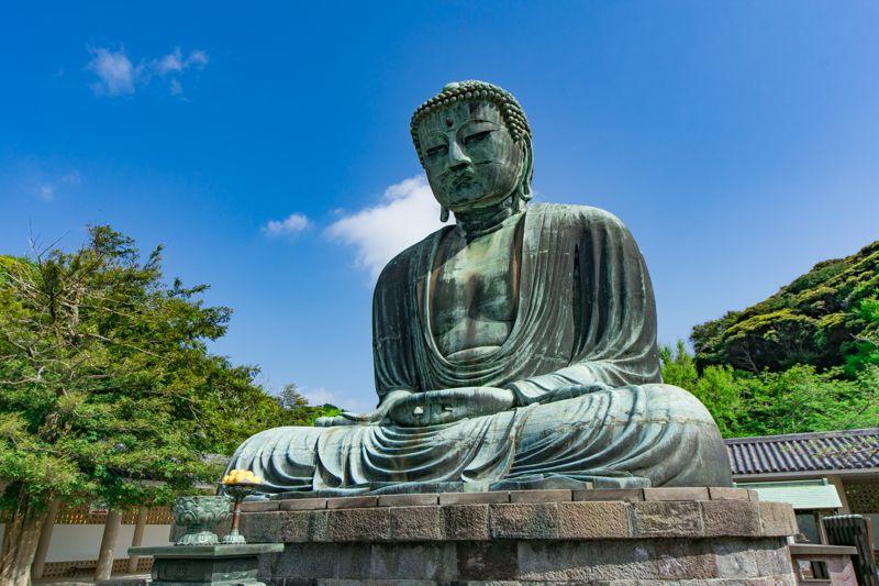 高徳院のシンボル!「鎌倉大仏」はやっぱり凄い!