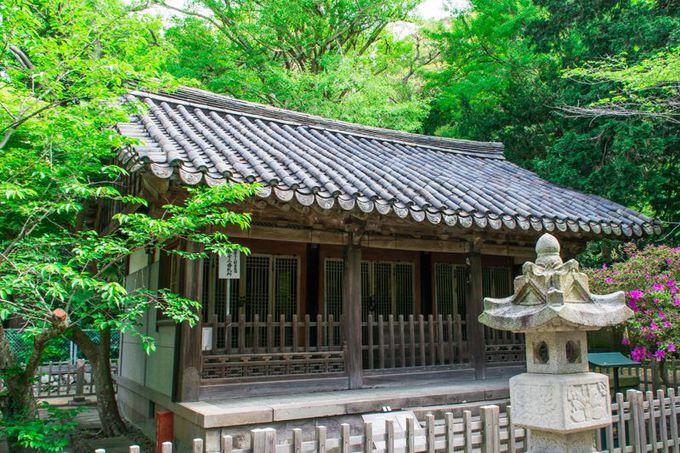 徳川秀忠ゆかりの「観月堂」