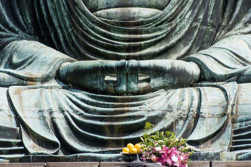 奈良の大仏との違いも面白い!鎌倉大仏の印相