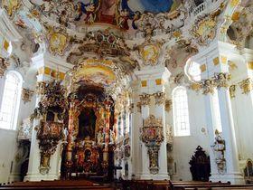 ドイツ・ロマンティック街道の奇蹟!ヴィースの巡礼教会