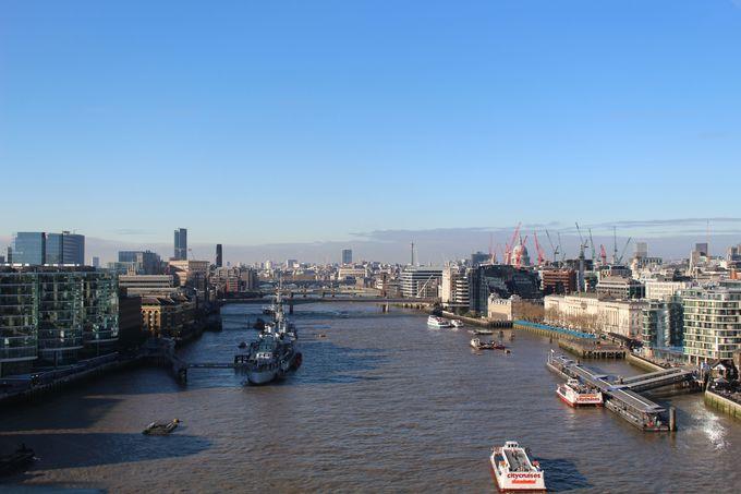 大都市ロンドンを空中散歩