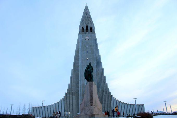 街を代表するハットルグリムス教会