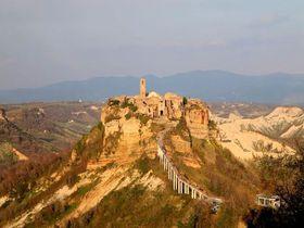 イタリアの天空の町!『チヴィタ・ディ・バーニョレージョ』