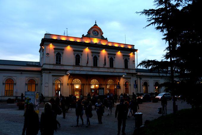 北イタリア最古の駅であるモンツァ駅