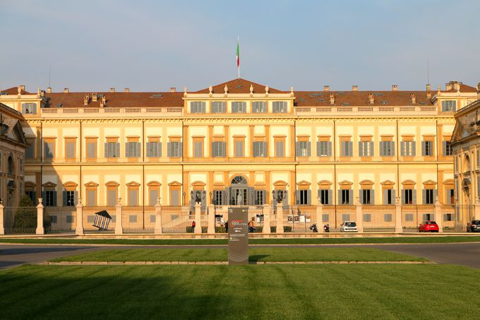 美術館も兼ねる豪華な大邸宅レアーレ邸
