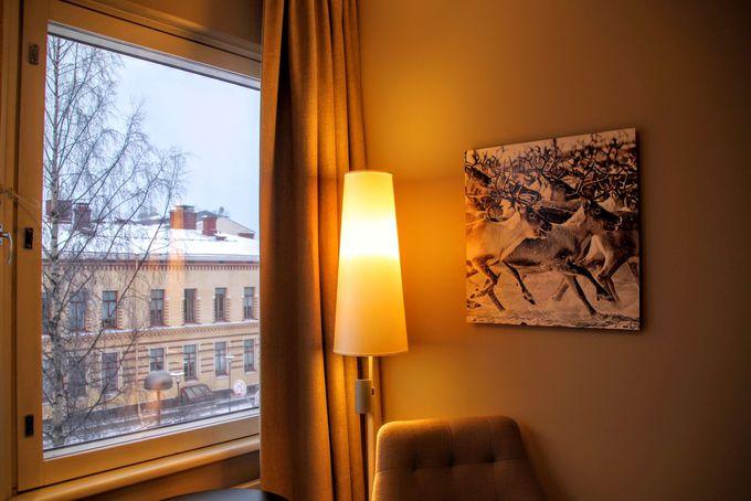 フィンランドらしさを詰め込んだ客室