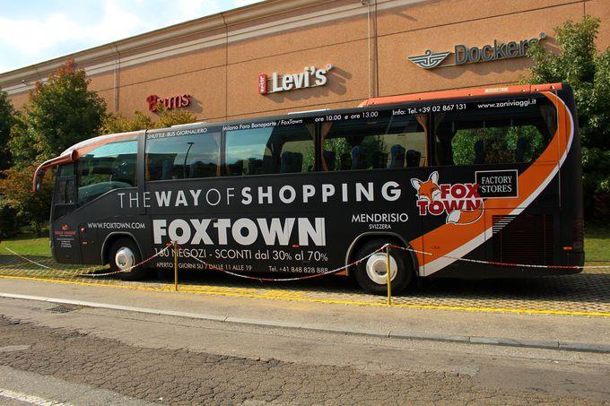 免税手続とフォックスタウンまでのアクセス