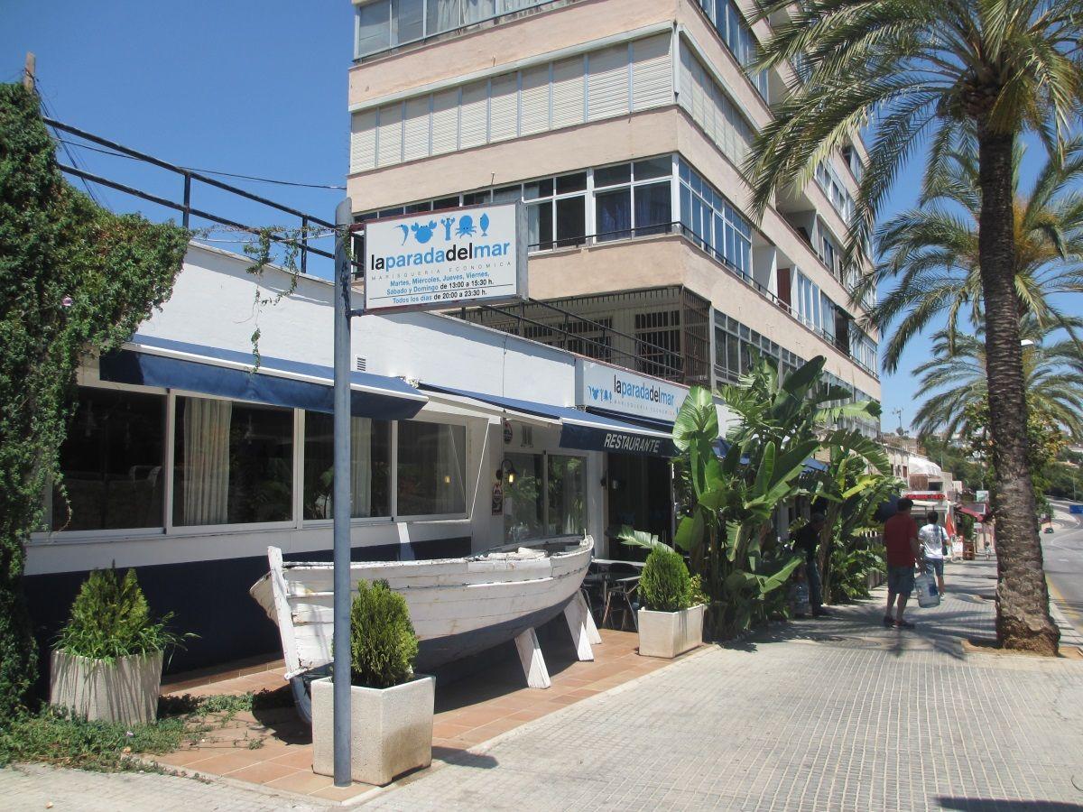 カラ・マヨール・ビーチからすぐのシーフード専門レストラン「ラ・パラダ・デル・マール」
