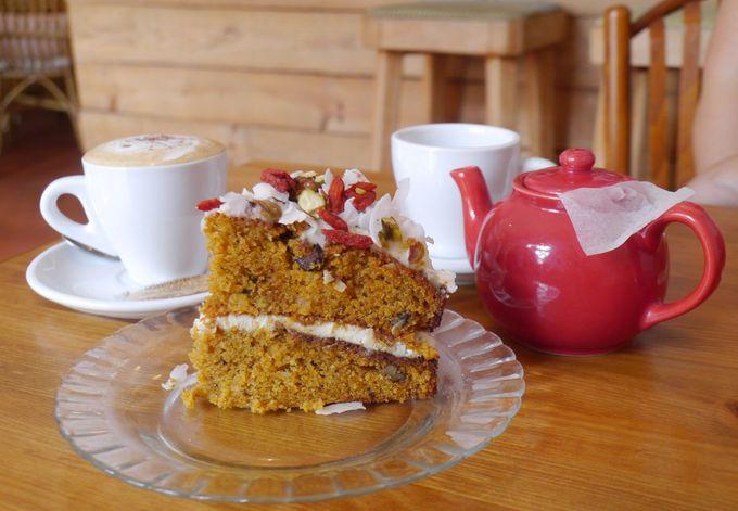 北欧風と素朴なホームメイドケーキ「Mostassa」