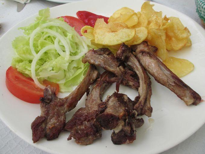 ブルネス訪問の〆は美味しいスペイン・アストゥリアス料理で決まり!