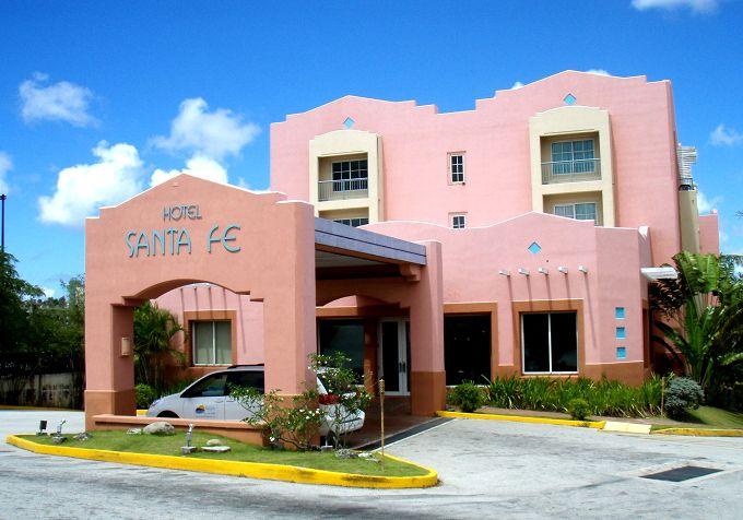 すぐにわかるピンクのホテル!
