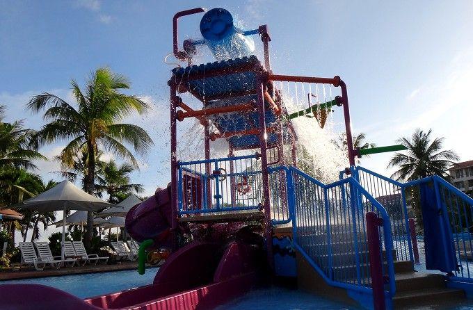 幼児用プールが楽しすぎる!