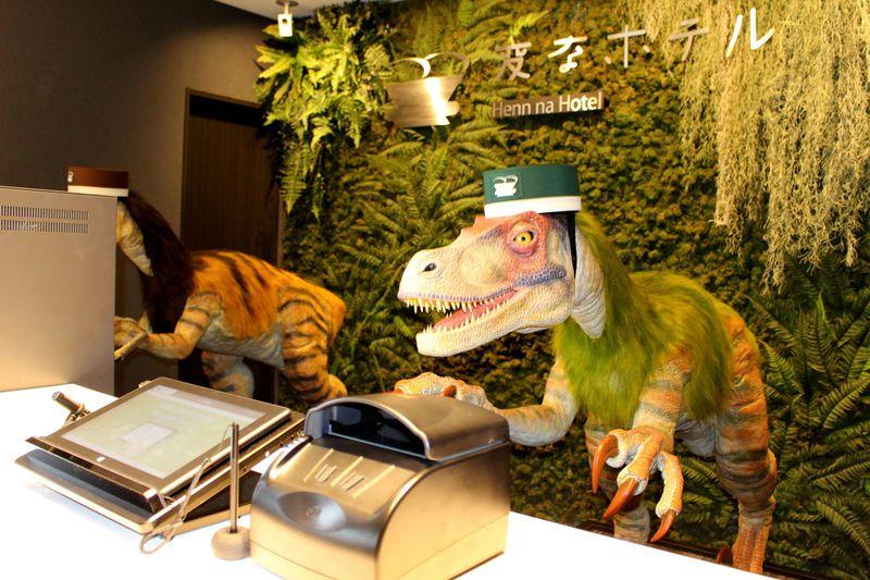 最新ロボットホテル!「変なホテル舞浜東京ベイ」が待望のオープン