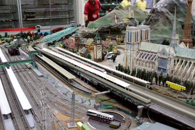 パパがハマりそう!鉄道模型の部屋